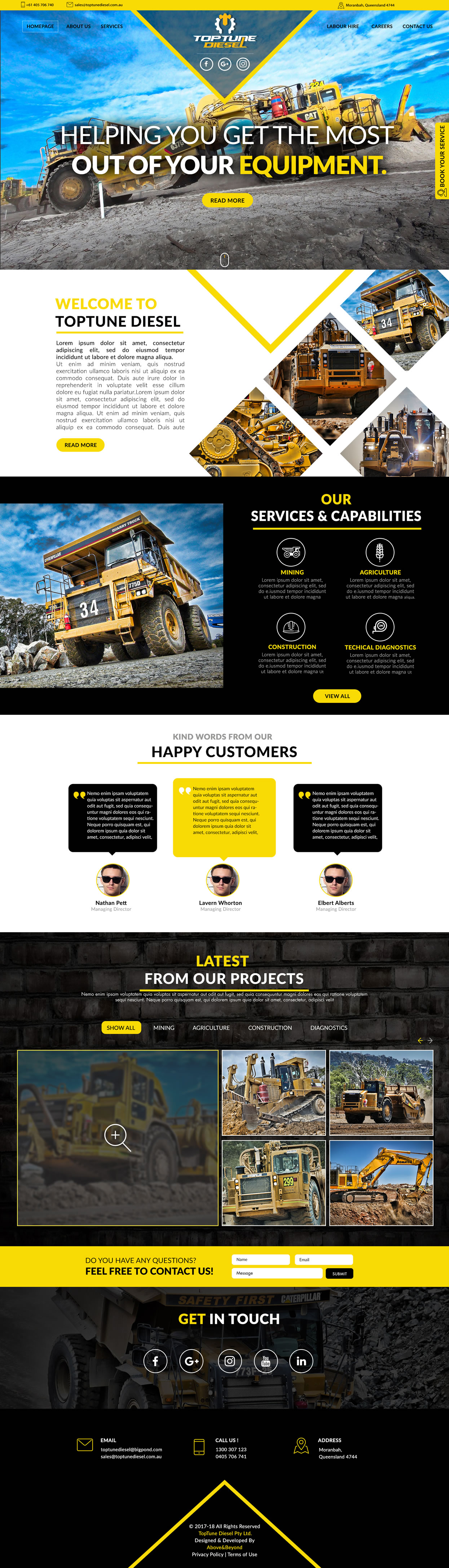 TopTune Diesel Home Page